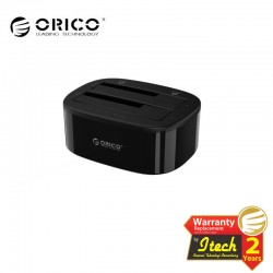ORICO 6228US3-C 2.5/3.5 inch USB3.0 1 to 1 Clone Dual-bay HDD and SSD Hard Drive Dock
