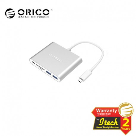 ORICO RCC2A Aluminum Type-C Hub with Card Reader