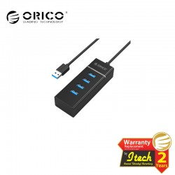 ORICO W6PH4 BK Super Speed USB3.0 4 port no power HUB without power adapter