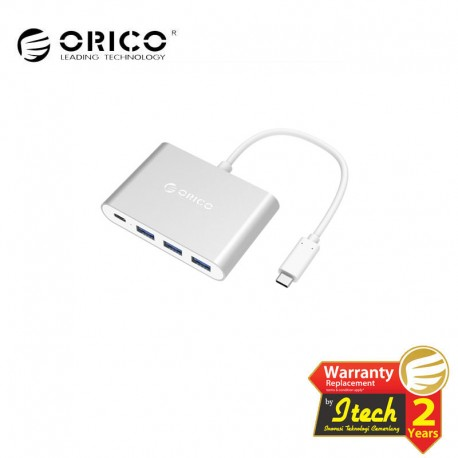 ORICO RC3A Aluminum Type-C PD Charging HUB