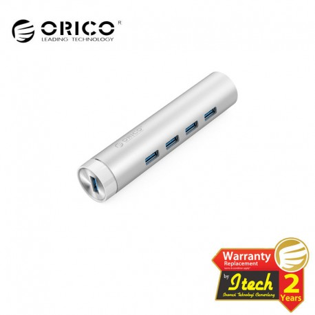 ORICO ARH4-U3 Aluminum 4 Port USB3.0 Hub, Expand for Cellphone, Laptop, Desktop and Other Devices
