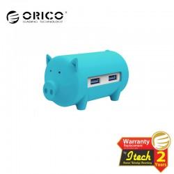 ORICO H4018-U3 Litte Pig Hub with Card Reader