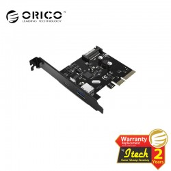 ORICO 2 Port USB3.1 PCI-E Adapter (PA31-AC)