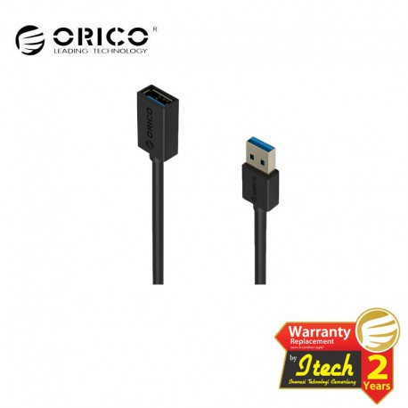 ORICO CER3-15 USB3.0 AM to AF 5 Ft / 1.5M Round USB Cable
