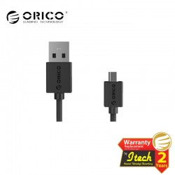 ORICO CMR2-10 USB2.0 A male to Micro USB2.0 Round Charging Data Cable with 1M Length ( Color : White )
