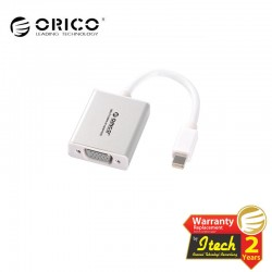 ORICO DMP3V Mini Displayport to VGA Adapter Built-in Cable 10 cm