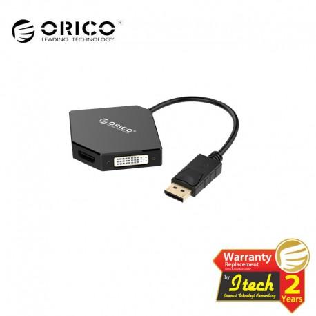 ORICO DPT-HDV3 DisplayPort to HDMI+DVI+VGA Adapter
