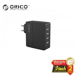 ORICO DCA-4U 4 Ports USB 110-200v AC Wall Charger 2x 5V1A + 2x 5V 2A Output