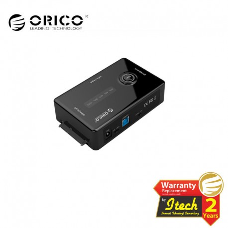 ORICO U3STS-C 2.5 & 3.5 inch SATA External Hard Drive Duplicator Adapter Built-in USB3.0 Cable