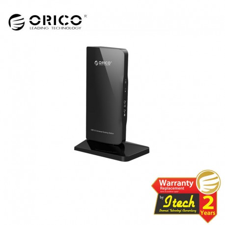 ORICO U3HV-S1 USB3.0&USB2.0 Gigabit Ethernet DVI Docking Station of Laptop and Surface for Windows & Mac OS