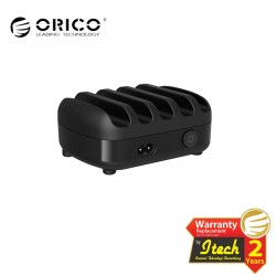 ORICO DUK-5P 5 Ports USB Smart Charging Station with Phone & Tablet Stand