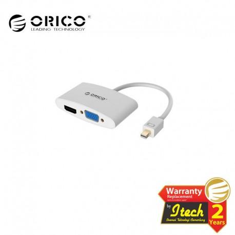 ORICO DMP-HV2 Mini DisplayPort to HDMI + VGA Adapter