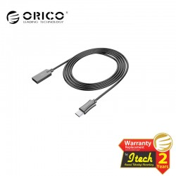 ORICO HTS-10 3A Stainless Steel Braided USB2.0 to Type-C Charge & Sync Cable 1 Meter