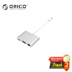 ORICO RCNB Aluminum Type-C to VGA/HDMI/RJ45/Type-C PD /Type-A Adapter