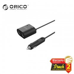 ORICO MP-2U2S 2 Port Car Cigarette Lighter