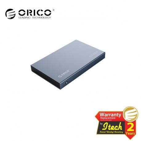 ORICO 2518C3-G2 2.5inch Type-C Aluminum Alloy Hard Drive Enclosure