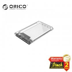 ORICO 2139C3-G2-CR 2.5 inch Transparent Type-C Hard Drive Enclosure