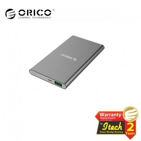 ORICO S5 5000mAh Aluminum Alloy Smart Power Bank with LED Indicator