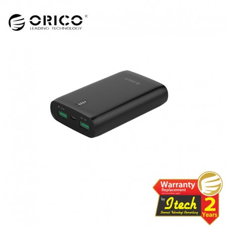 ORICO FIREFLY-M6 6000mAh Emergency Power Bank with LED Indicator