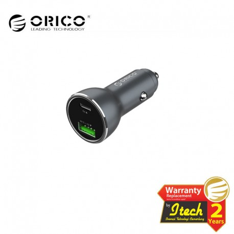 ORICO UPD-2U PD3.0+2.4A Super Charge Smart Car Charger