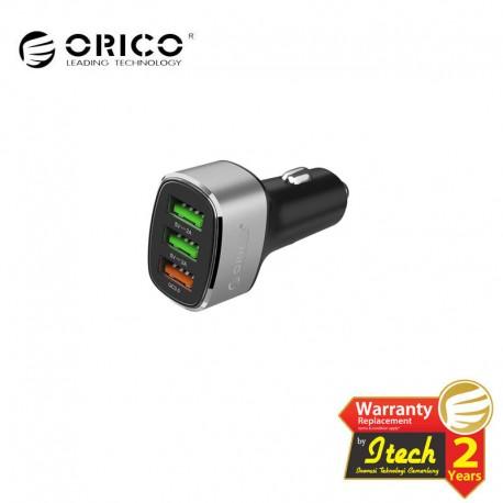 ORICO UPB-3U 38W 3 Ports (QC3.0*1) USB Smart Car Charger