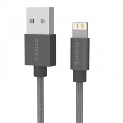 ORICO LTF-20 Nylon USB2.0 to Lightning Apple Charge & Sync Cable 2 Meter