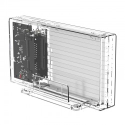 ORICO 2259U3 Transparent Series Dual-Bay Hard Drive Enclosure