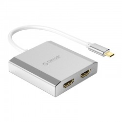 ORICO Type-C to Dual HDMI 4K Adapter - XD-CF2H4