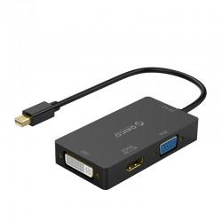 ORICO XD-MDFHDV4 Mini DP to HDMI/VGA/DVI HD Video Adapter