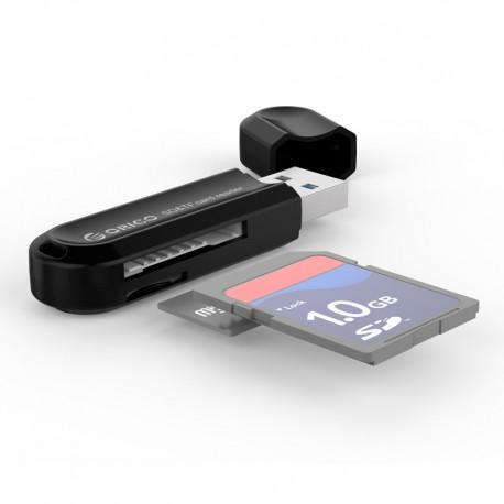 ORICO CRS21-BK ORICO USB3.0 TF / SD Card Reader (CRS21)