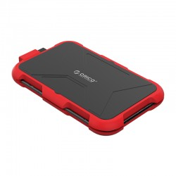 ORICO 2769U3 red silica gel 2.5Inch Triple-Protection HDD Enclosure