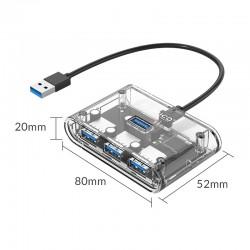 ORICO LV1U3-4A 4-port USB3.0 Hub